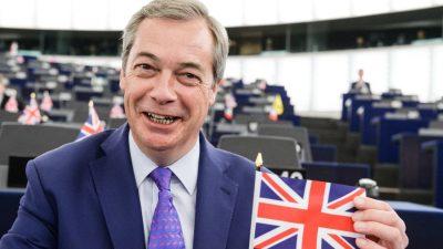 Frischer Wind im britischen Brexit-Mief: Neue Anti EU-Partei könnte EU-Wahl gewinnen