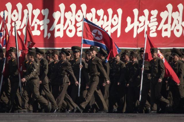 Nordkoreanische Armee Foto: ED JONES/AFP/Getty Images