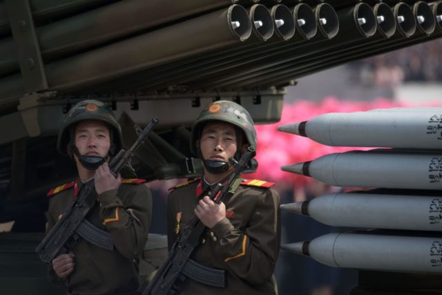 Nordkoreanisches Militär Foto: ED JONES/AFP/Getty Images