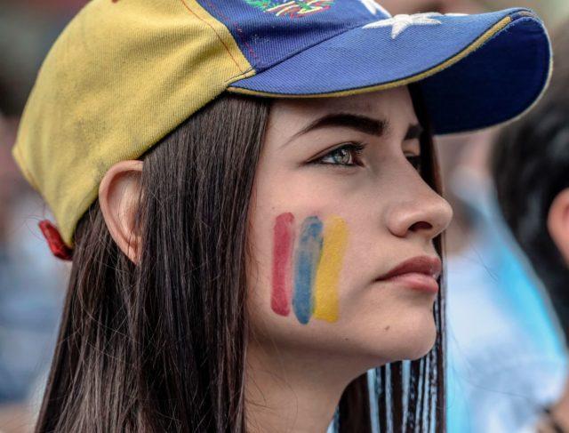 Proteste in Venezuela Foto: JUAN BARRETO/AFP/Getty Images
