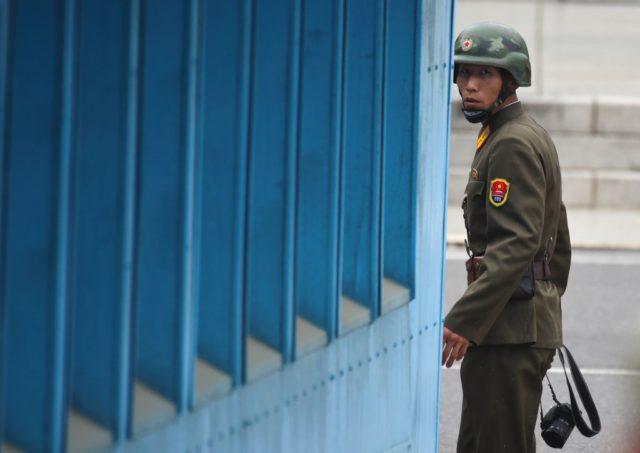 Die Spannungen zwischen den USA und Nordkorea sind hoch. Foto: JUNG YEON-JE/AFP/Getty Images