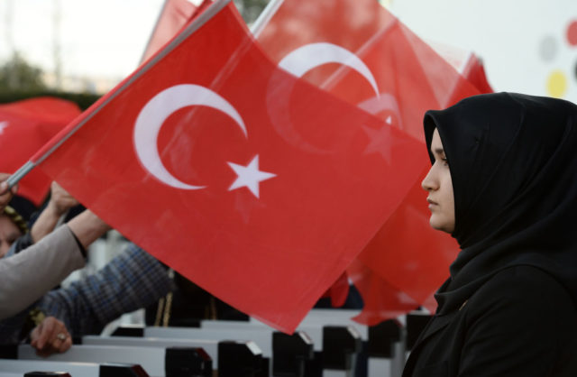 Türkei-Referendum Foto: Elif Sogut/Getty Images