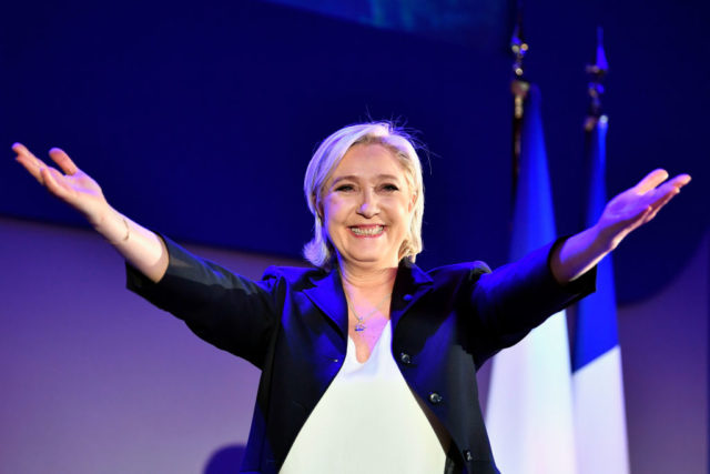 FN-Chefin Marine Le Pen Foto: Jeff J Mitchell/Getty Images