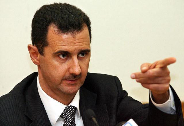 Der syrische Staatschef Baschar al-Assad Foto: YURI KADOBNOV/AFP/Getty Images