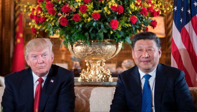 US-Präsident Donald Trump und der chinesische Staatschef Xi Jinping. Foto: Getty Images