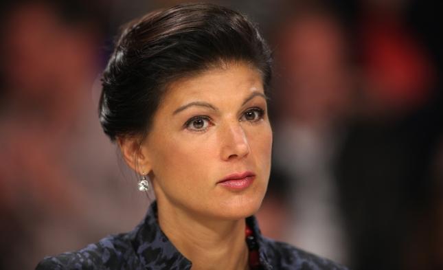 """Sahra Wagenknecht: """"Hohe Sozialausgaben sind kein Selbstzweck"""""""