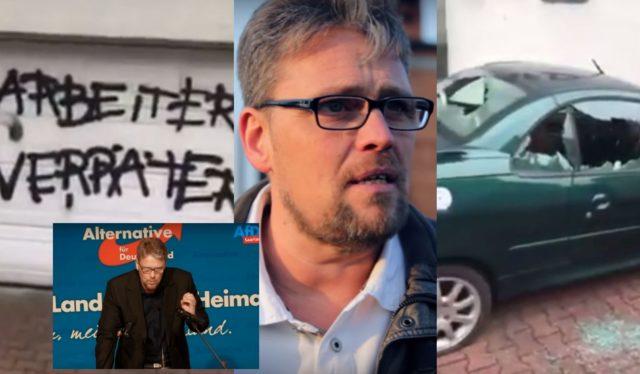 Wahlkampf 2017 in Deutschland: Politische Gegner werden mit kriminellen Mitteln eingeschüchtert. Foto: Screenshot/Youtube/EPT