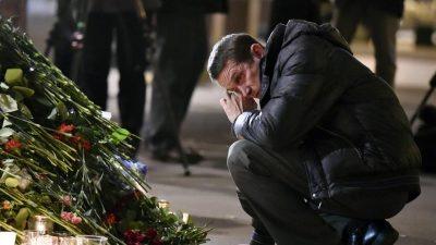 Attentäter von St.Petersburg stammt aus Kirgistan