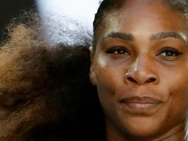 Serena Williams erwartet ihr erstes Baby. Foto: Dita Alangkara/dpa