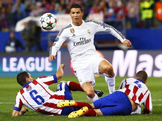 Real Madrids Superstar Cristiano Ronaldo trifft in der Champions League erneut auf Atlético Madrid. Foto: Alberto Martin/dpa