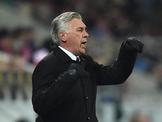 Bayern-Coach Carlo Ancelotti will gegen den abstiegsbedrohten Gegner das beste Team aufbieten. Foto: Torsten Silz/dpa