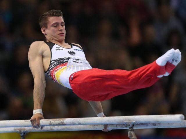 Lukas Dauser erzielte das beste EM-Ergebnis eines deutschen Mehrkämpfers seit 2011. Foto: Karl-Josef Hildenbrand/dpa