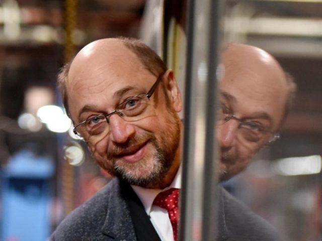 Der SPD-Kanzlerkandidat Martin Schulz. Foto: Carsten Rehder/Archiv/dpa