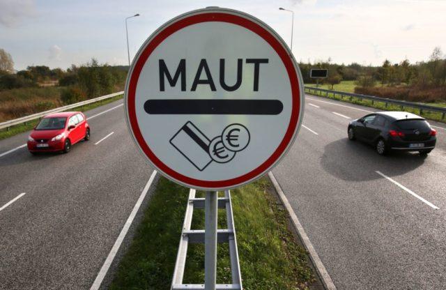 Lkw-Maut. Foto: BERND WUSTNECK/AFP/Getty Images
