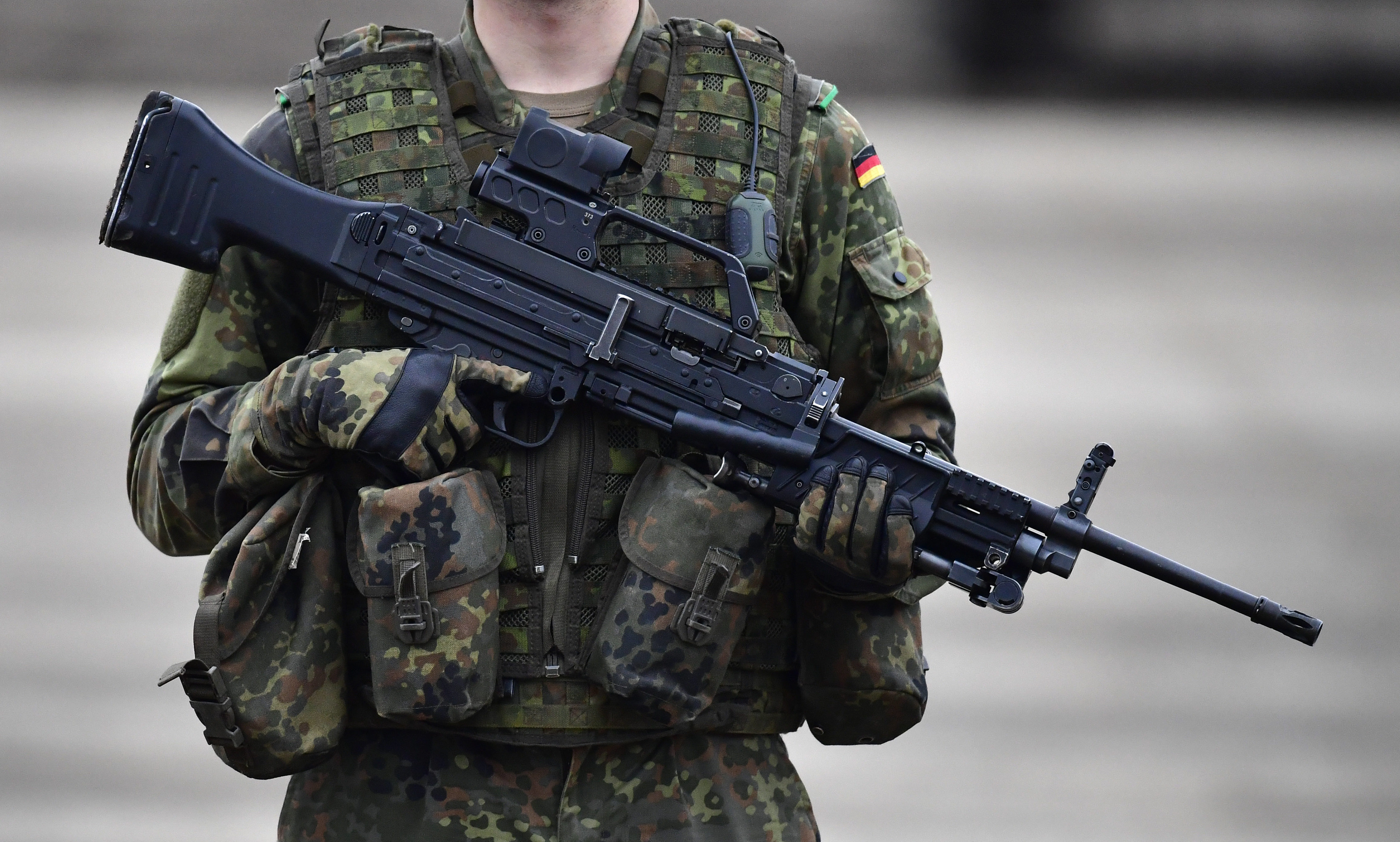 Franco A. hortete 1.000 Schuss Munition