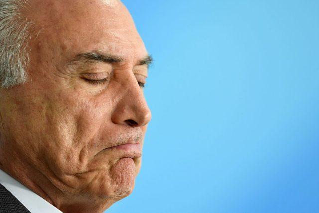 Michel Temer Foto: EVARISTO SA/AFP/Getty Images