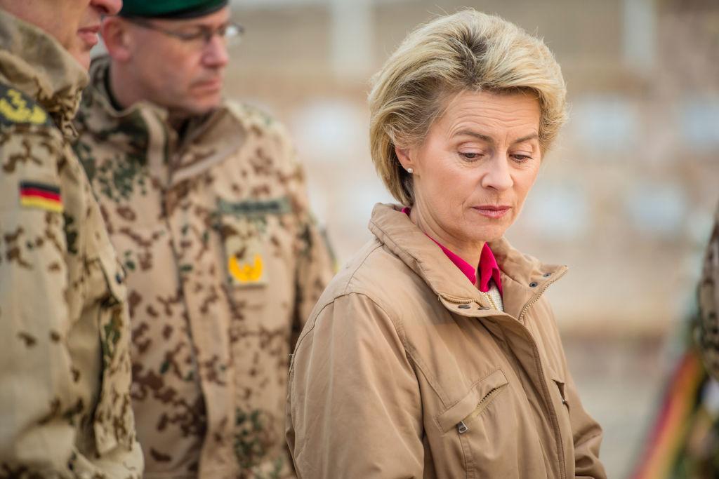 Ursula von der Leyen Foto: GREGOR FISCHER/AFP/Getty Images