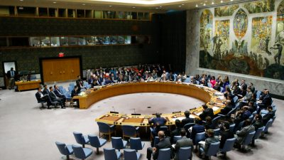 Wahl von fünf neuen Mitgliedern des UN-Sicherheitsrats