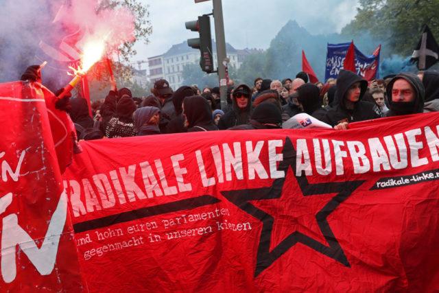Radikale Linke in Berlin. 1. Mai 2017. Foto: Sean Gallup/Getty Images