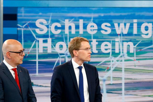 Torsten Albig (SPD) (l) und Daniel Günther (CDU) Foto: Morris MacMatzen/Getty Images