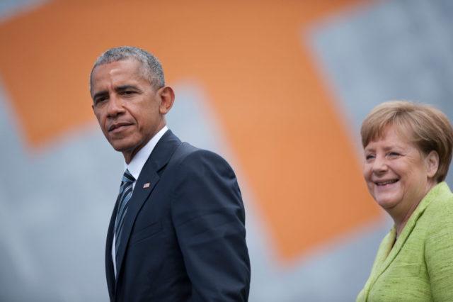 Barack Obama und Kanzlerin Angela Merkel. Foto: Steffi Loos/Getty Images