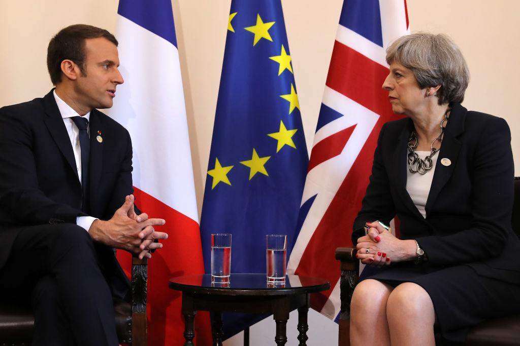 Nach Manchester-Anschlag: Macron will May im Kampf gegen Terror unterstützen