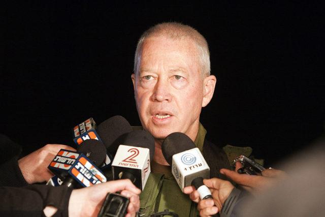 Joav Galant am 5. September 2010 in seiner Stellung als israelischer Generalmajor. Foto: JACK GUEZ/AFP/Getty Images