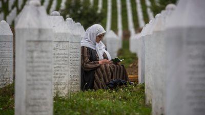 Europarat: Belgrad soll Massaker von Srebrenica als Völkermord anerkennen