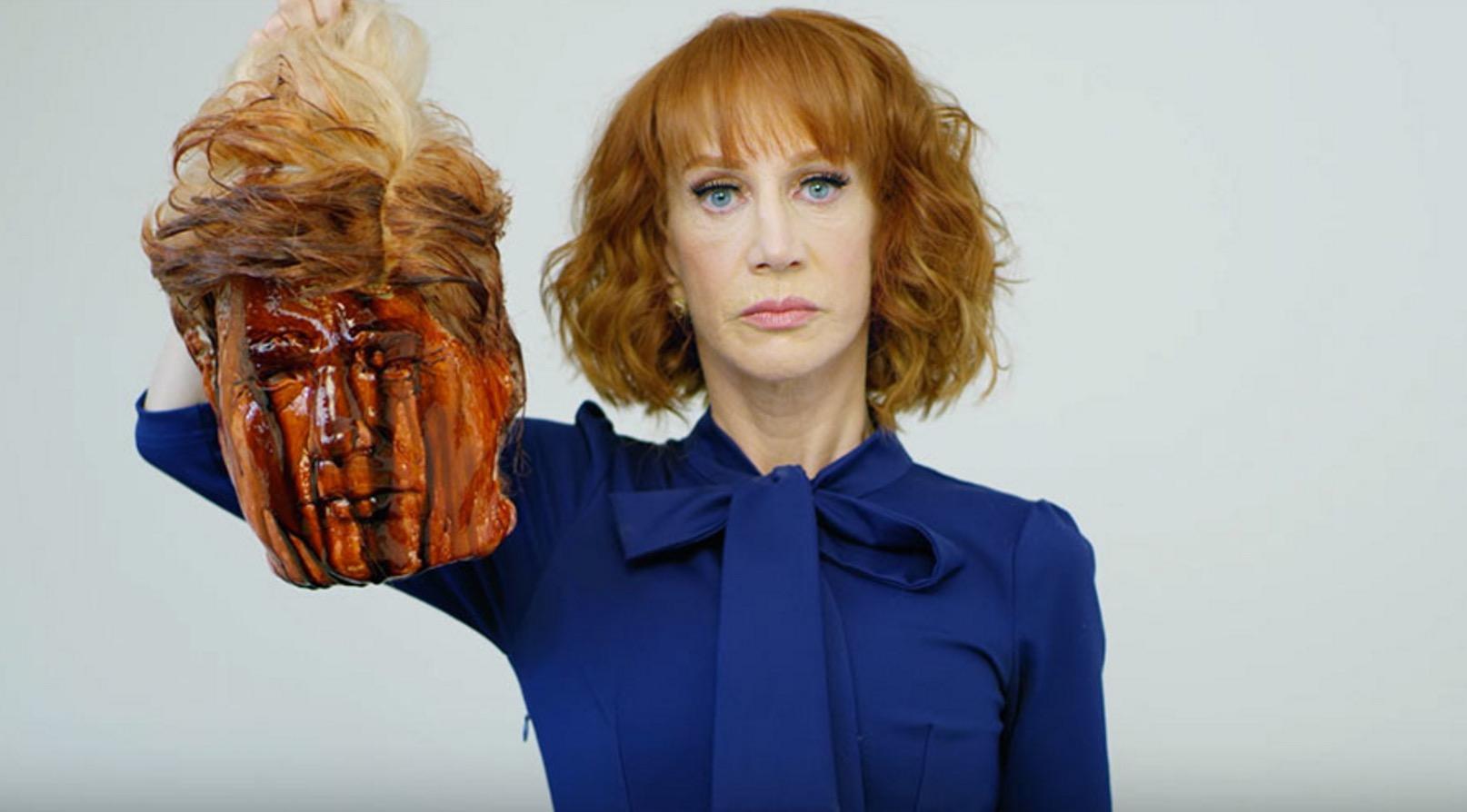 """""""Krank!"""": US-Komikerin Griffin zeigt abgeschlagenen Trump-Kopf – und entschuldigt sich"""