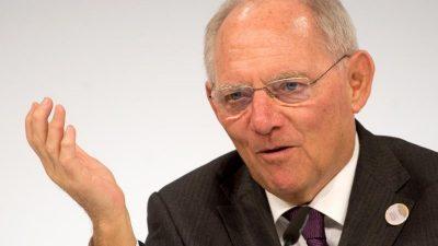 Wolfgang Schäuble wurde als Bundestagspräsident nominiert