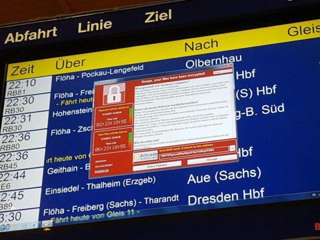 Cyberangriff Deutsche Bahn