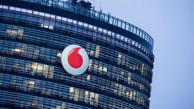 Vodafone startet neues Mobilfunknetz: Datenübertragung bei einem Megabit pro Sekunde