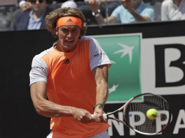 In Rom erreichte Alexander Zverev das Halbfinale. Foto: Alessandra Tarantino/dpa