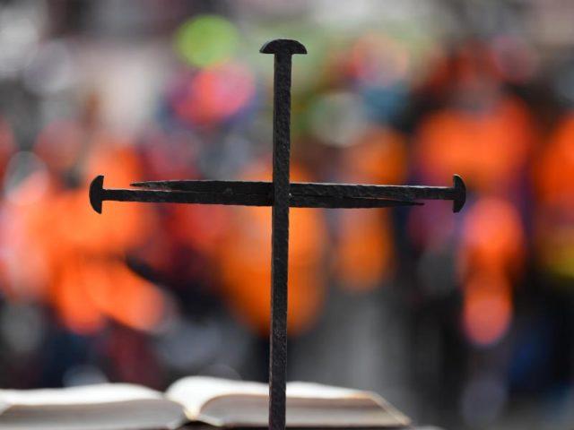 Der Deutsche Evangelische Kirchentag findet vom 24. bis 28. Mai unter dem Motto «Du siehst mich» in Berlin und Lutherstadt Wittenberg statt. Foto: Ralf Hirschberger/dpa