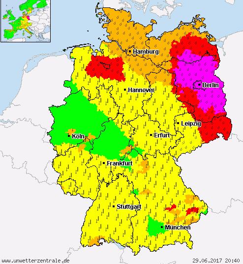 Wetterwarnung Berlin