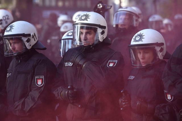 Hamburger Polizei G20