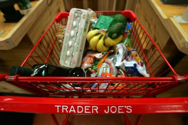 Trader Joe's for the grand opening on 14th Street on March 17, 2006 in New York City. Trader Joe's, a specialty retail grocery store, has more than 200 stores in 19 states. (Photo by Michael Nagle/Getty Images)