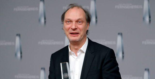 attends the German Television Award (Der Deutscher Fernsehpreis 2017) at Rheinterrasse on February 2, 2017 in Duesseldorf, Germany.