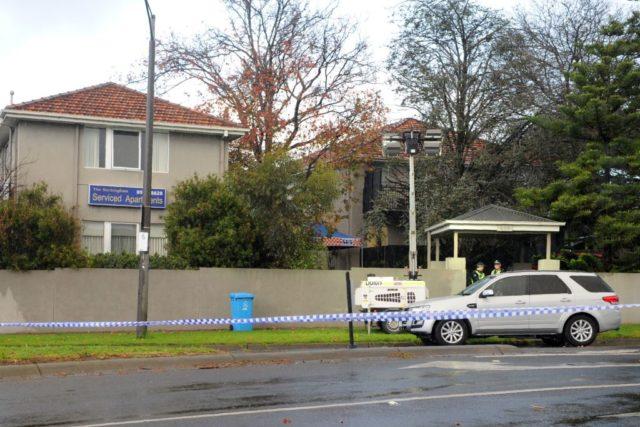 Geiseldrama in Melbourne, Australien. Foto: MAL FAIRCLOUGH/AFP/Getty Images