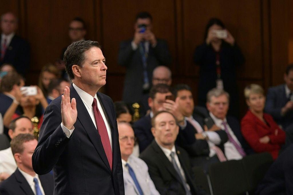"""Anhörung von Ex-FBI-Chef Comey: """"Ich hatte Sorge, dass Trump lügen könnte"""""""