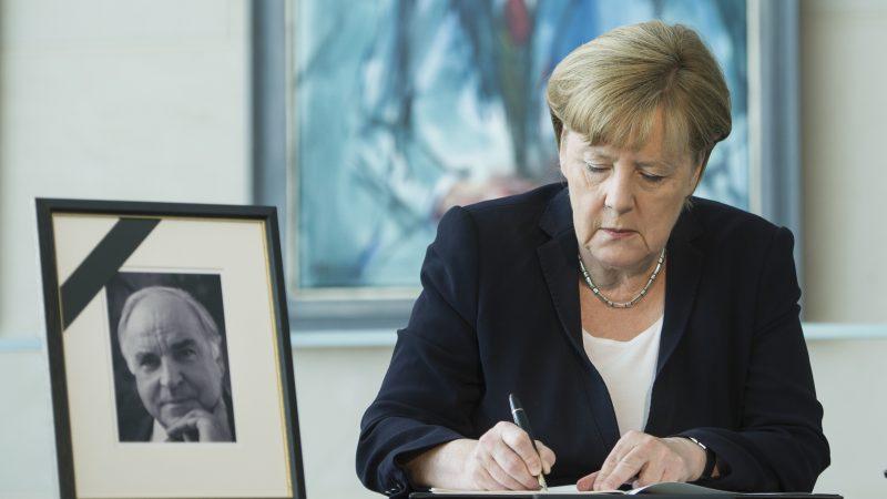 Kohl Trauerfeier