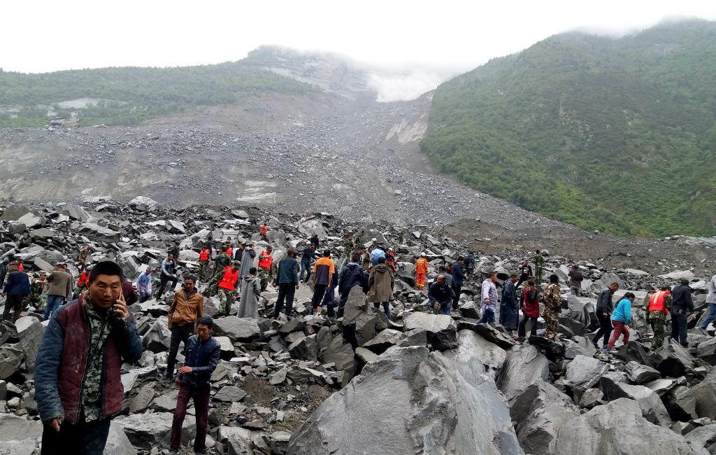 Erdrutsch in China: Erste Tote gefunden – Merkel übermittelt Anteilnahme