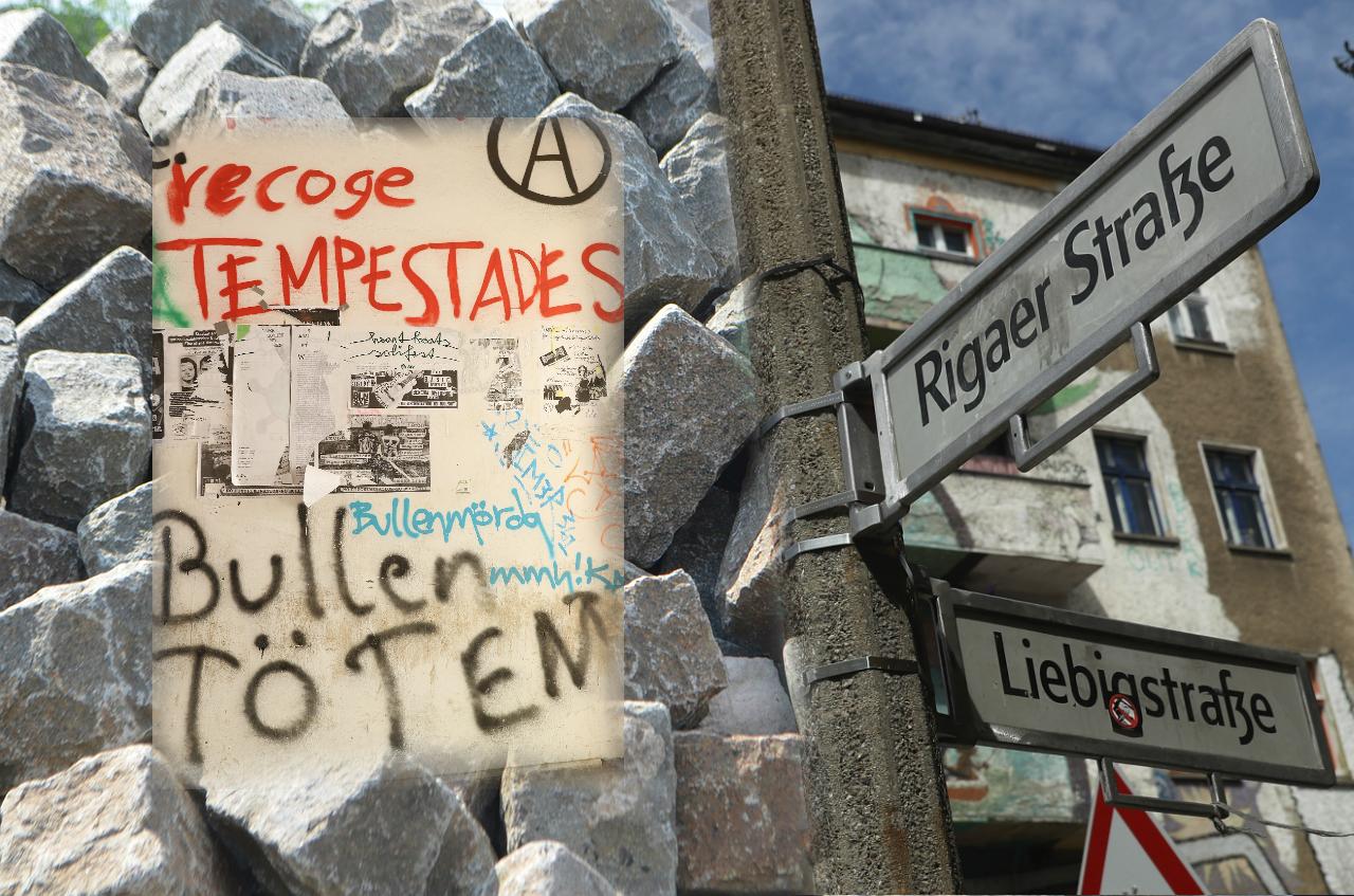 Berlin, Rigaer 94: RBB-Team und CDU-Politiker von Vermummten angegriffen – Dregger fordert Abriss des besetzten Hauses