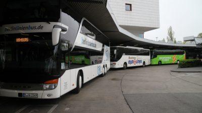 2017: Polizei erwischte 7.500 Illegale beim Einreisen mit Fernbus – Dutzende waren zur Fahndung ausgeschrieben