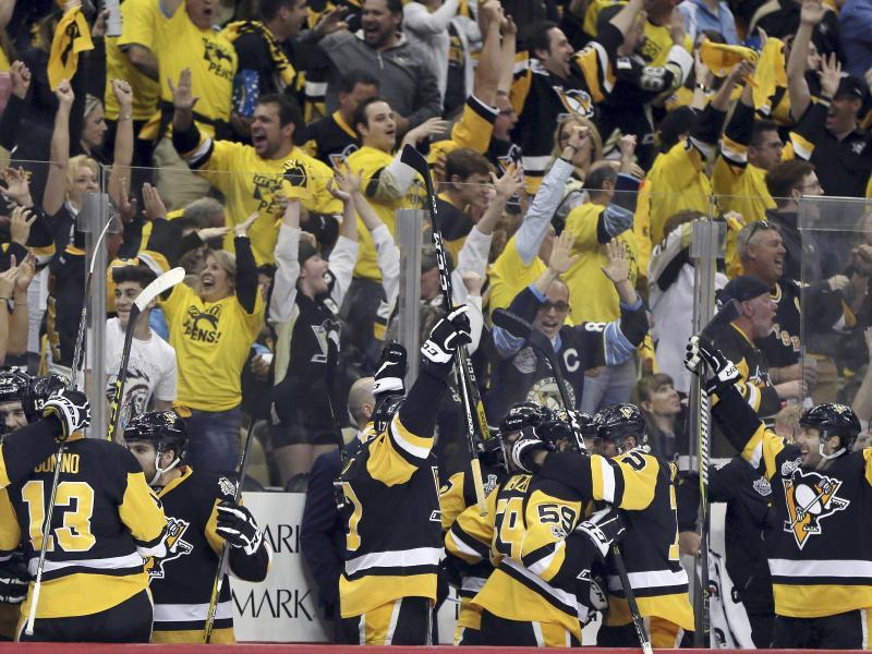 NHL:Pittsburgh gewinnt auch zweites Stanley-Cup-Finale