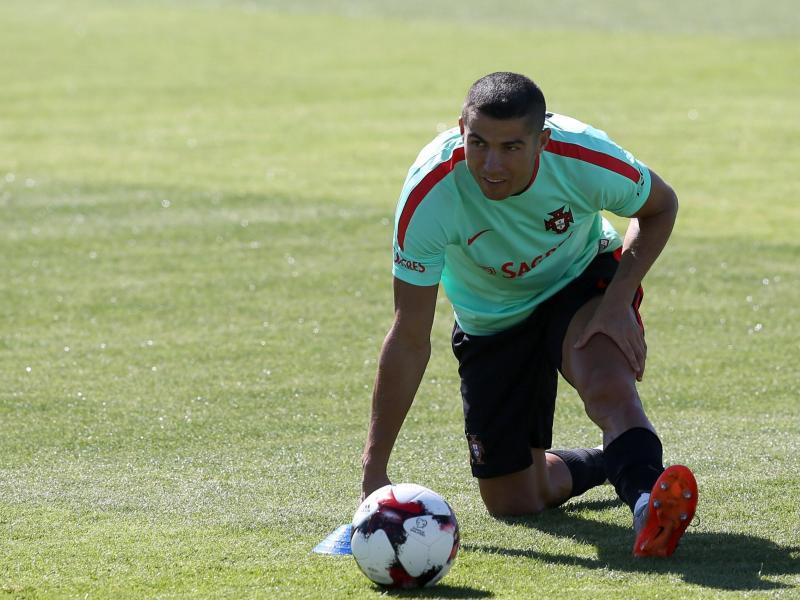 Keine Zeit zum Auspannen für Ronaldo