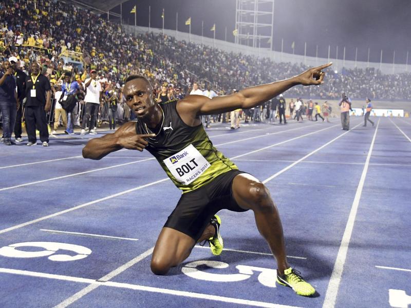 30 000 Fans verabschieden in Jamaika Usain Bolt
