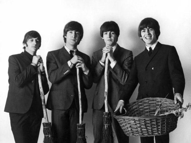 Ringo, John Paul und George. Foto:Keystone/dpa