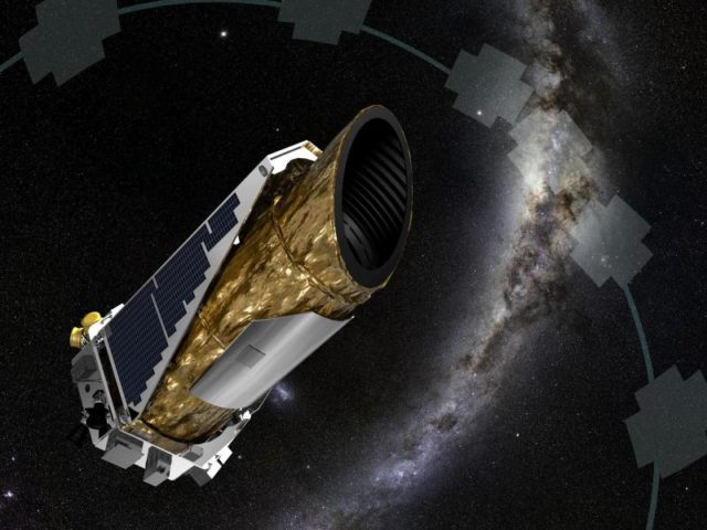 Das Weltraumteleskop «Kepler» hat mehr als 200 mögliche neue Planeten erspäht. Foto: EPA/NASA/Ames/JPL-Caltech/dpa