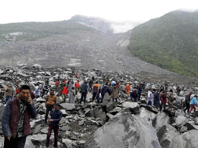 Mehr als 140 Vermisste nach Erdrutsch in China